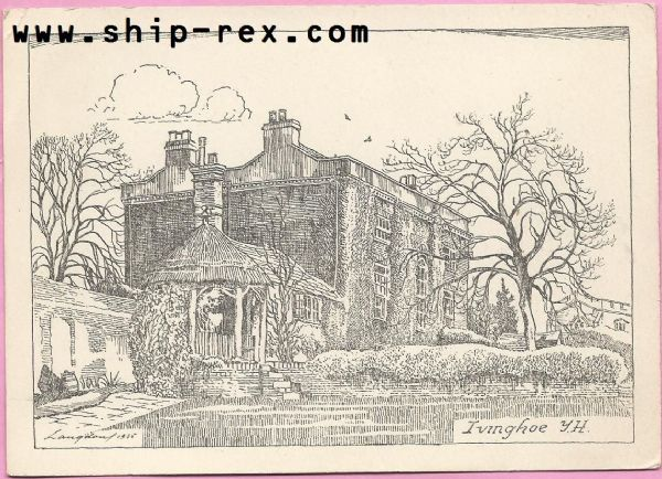 Ivinghoe Youth Hostel - plain back card